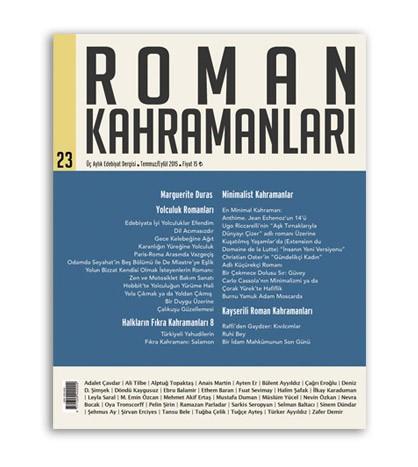Roman Kahramanları sayı - 23